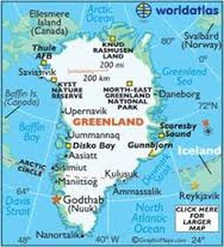 how to get to greenland from canada